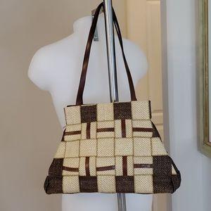 Fiona Italy Woven Handbag